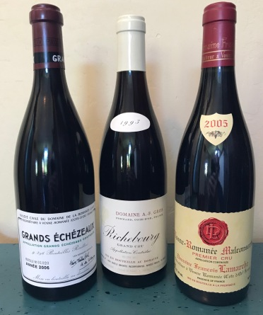 Great Vosne Wines