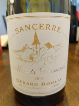 Sancerre bottle